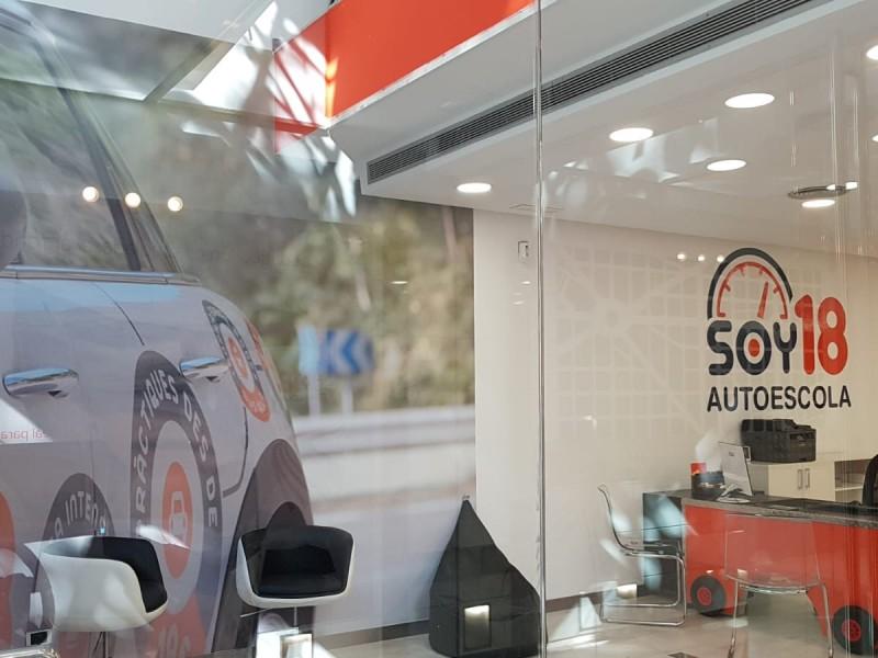 Autoescuela SOY18 abre su primera autoescuela en Sabadell